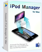 15% – Aiseesoft iPod Manager for Mac