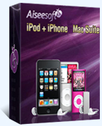 Aiseesoft iPod + iPhone Mac Suite Coupon Code – 40%