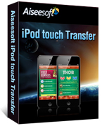 Aiseesoft iPod touch Transfer Coupon Code – 40%