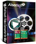 Aiseesoft iPod touch Video Converter for Mac Coupon – 40%