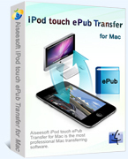 15% – Aiseesoft iPod touch ePub Transfer for Mac