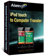 Aiseesoft iPod touch to Computer Transfer Coupon – 40% OFF