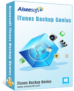 Aiseesoft iTunes Backup Genius Coupon Code – 40%
