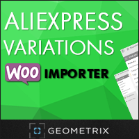 Aliexpress Variations WooImporter. Add-on for WooImporter. Coupon Code