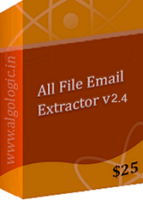 All File Email Address Extractor (5 Years License) Coupons