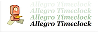Allegro Data Solutions – Allegro Timeclock Small Business Edition Sale