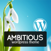 Amazing Ambitious – Business & Portfolio WordPress Theme Coupon Discount