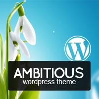 Amazing Ambitious – Business & Portfolio WordPress Theme Coupon Discount