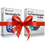 Exclusive Aneesoft Video Converter Pro and YouTube Converter Bundle for Mac Coupons