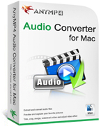 AnyMP4 Audio Converter for Mac Coupon Code – 20%