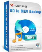 AnyMP4 BD to MKV Backup Lifetime License Coupon – 90% Off
