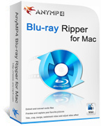AnyMP4 Blu-ray Ripper for Mac Lifetime License Coupon Code – 90%