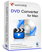 AnyMP4 DVD Converter for Mac Coupon – 20% OFF