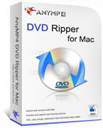 AnyMP4 DVD Ripper for Mac Lifetime License Coupon Code – 90% OFF