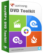 AnyMP4 DVD Toolkit Lifetime License Coupon Code – 90%