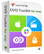 AnyMP4 DVD Toolkit for Mac Lifetime License Coupon Code – 90%