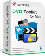 AnyMP4 DVD Toolkit for Mac Coupon Code