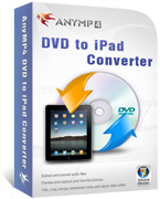 AnyMP4 DVD to iPad Converter Coupon – 20%