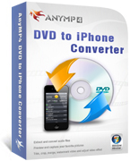 AnyMP4 DVD to iPhone Converter Coupon Code – 20%