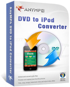 20% OFF AnyMP4 DVD to iPod Converter Coupon