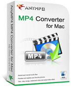 AnyMP4 MP4 Converter for Mac – Exclusive Discount