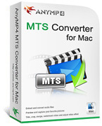 AnyMP4 MTS Converter for Mac Coupon Sale