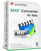 20% OFF AnyMP4 MXF Converter for Mac Coupon Code
