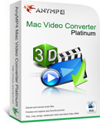 20% AnyMP4 Mac Video Converter Platinum Coupon Code