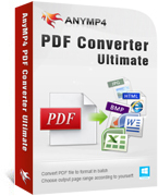 AnyMP4 PDF Converter Ultimate Coupon