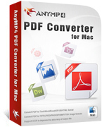 AnyMP4 PDF Converter for Mac Coupon