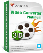 AnyMP4 Video Converter Platinum Coupon Code – 20%