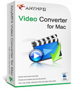 90% AnyMP4 Video Converter for Mac Lifetime License Coupon