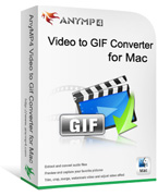 20% AnyMP4 Video to GIF Converter for Mac Coupon