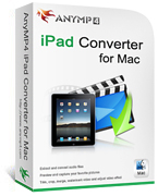 AnyMP4 iPad Converter for Mac Coupon Code – 20%
