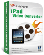 AnyMP4 iPad Video Converter Coupon – 20% OFF