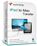 20% AnyMP4 iPad to Mac Transfer Coupon Code