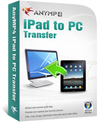 20% AnyMP4 iPad to PC Transfer Coupon