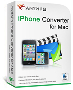 AnyMP4 iPhone Converter for Mac Coupon – 20% OFF