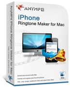 AnyMP4 iPhone Ringtone Maker for Mac Coupon – 20%