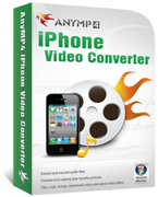 AnyMP4 iPhone Video Converter Coupon Code – 20%