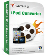 AnyMP4 iPod Converter Coupon – 20% OFF