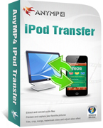 AnyMP4 iPod Transfer Coupon Code – 20%