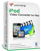AnyMP4 iPod Video Converter for Mac Coupon – 20%