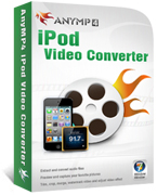 20% OFF AnyMP4 iPod Video Converter Coupon Code