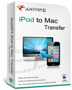 AnyMP4 iPod to Mac Transfer Coupon – 20%