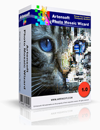 Artensoft Photo Mosaic Wizard-French Coupon – 75%
