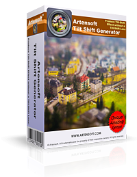Artensoft Tilt Shift Generator Coupon – 30%