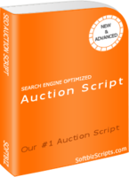 15% OFF – Auction software (with Design 1)