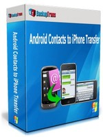 Backuptrans Android Contacts to iPhone Transfer (One-Time Usage) Coupon