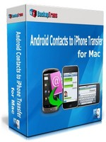 Backuptrans Android Contacts to iPhone Transfer for Mac (Personal Edition) Coupon